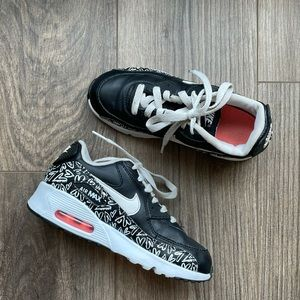 NIKE Air Max 90 Print Leather Running Sneakers